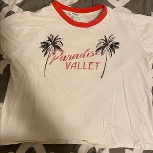 """paradise valley"" tee shirt"